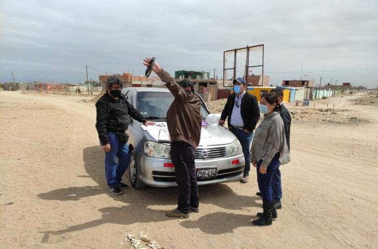 Realizan visita de campo para definir ubicación del nuevo centro de salud en el PROMUVI I