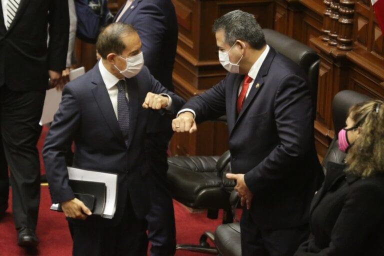 Pleno del Congreso le otorga el voto de confianza al Gabinete Martos