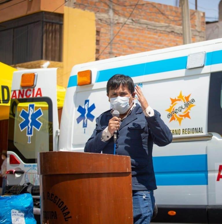Cáceres Llica pide a presidente Vizcarra no dar espalda al desarrollo de Arequipa