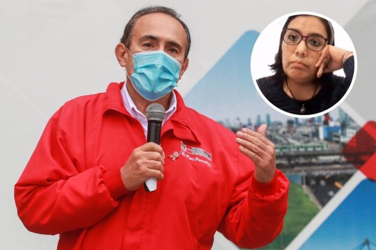 Karem Roca pide perdón y desmiente afirmaciones contra ministro Carlos Estremadoyro