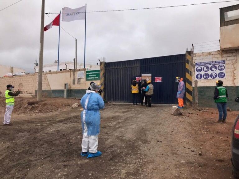 Cierran almacén de granos en Islay-Matarani