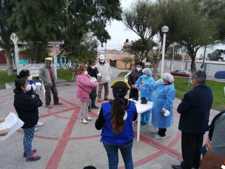 Comandos Covid Vecinales reciben kits de equipos biomédicos