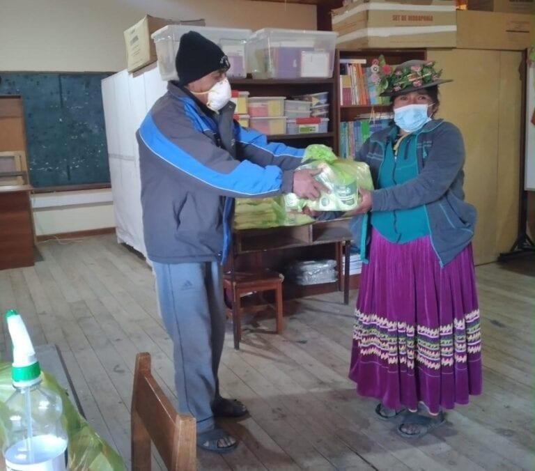 Comités de Alimentación Escolar entregan alimentos de Qali Warma