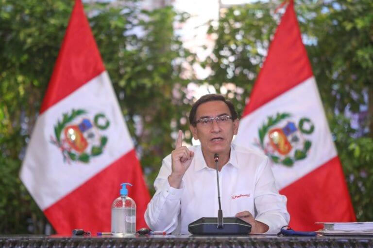 Presidente Vizcarra exhorta al Congreso a aprobar reforma electoral antes de fin de mes