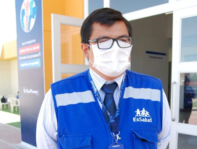 Hospital de contingencia atiende a pacientes sintomáticos respiratorios