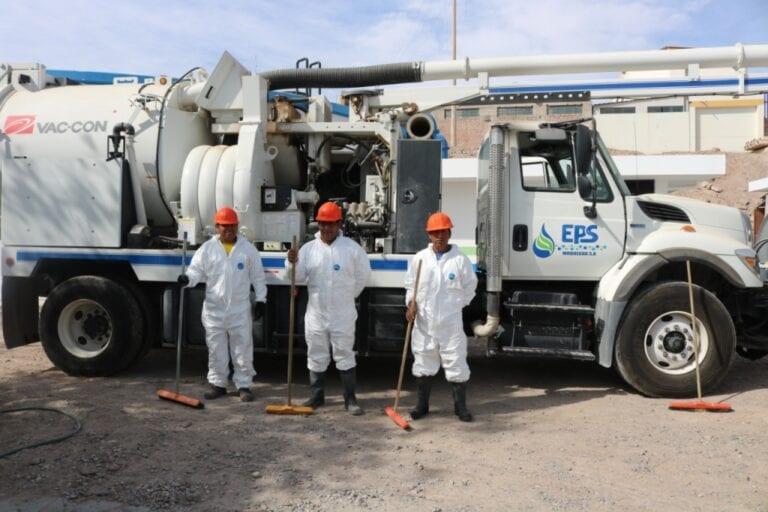 EPS Moquegua realizará limpieza y desinfección de reservorios
