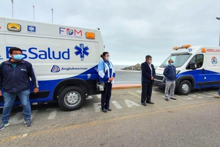 FDM entrega ambulancias a EsSalud y al MINSA en Ilo