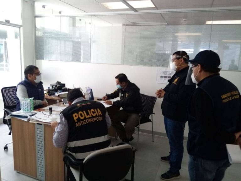 Empresas vinculadas al FIRME: Fiscalía Anticorrupción realizó diligencia en GORE Moquegua