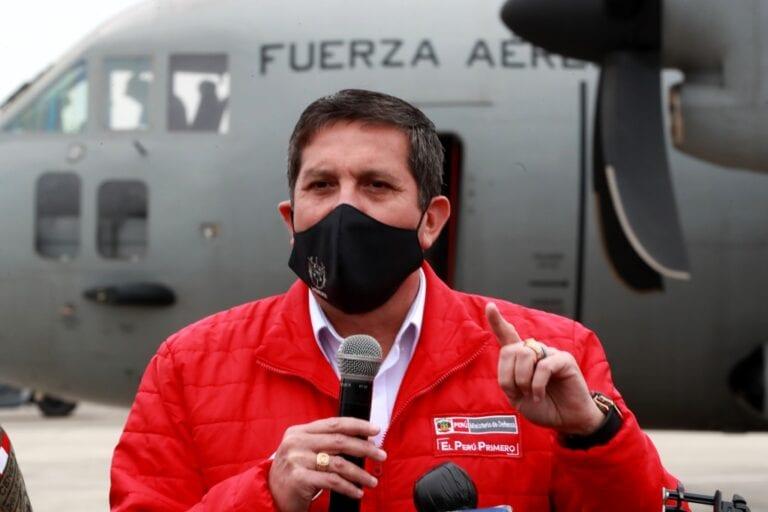 Anuncian arribo de ministro de Defensa a Moquegua