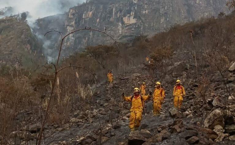 Controlan incendio forestal en el Santuario Histórico de Machu Picchu