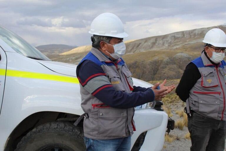 Inician mantenimiento de carreteras en la provincia Sánchez Cerro