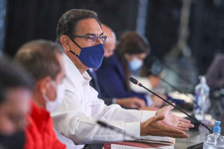 Presidente Vizcarra: hay un descenso sostenido de muertes por Covid-19