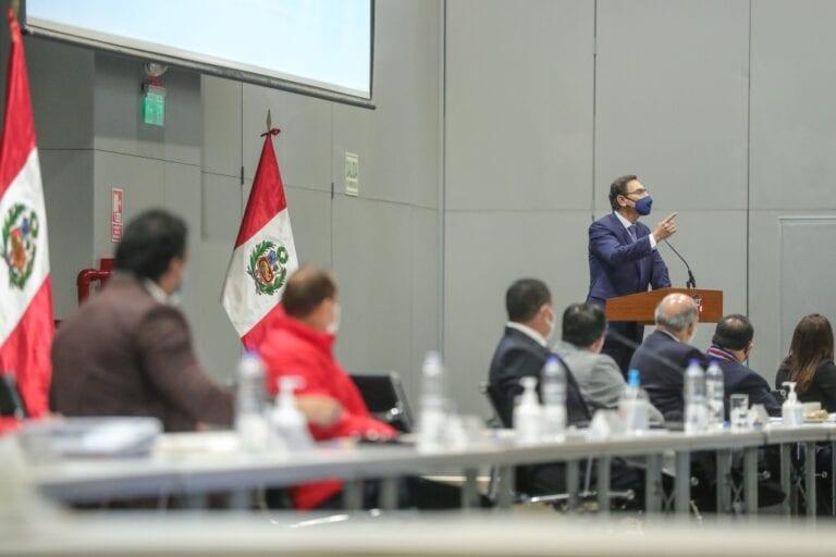 Presidente Vizcarra: economía peruana se viene recuperando mes a mes