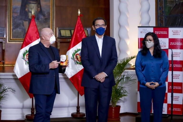 Presidente Vizcarra llama a los peruanos a sumarse a colecta contra el cáncer