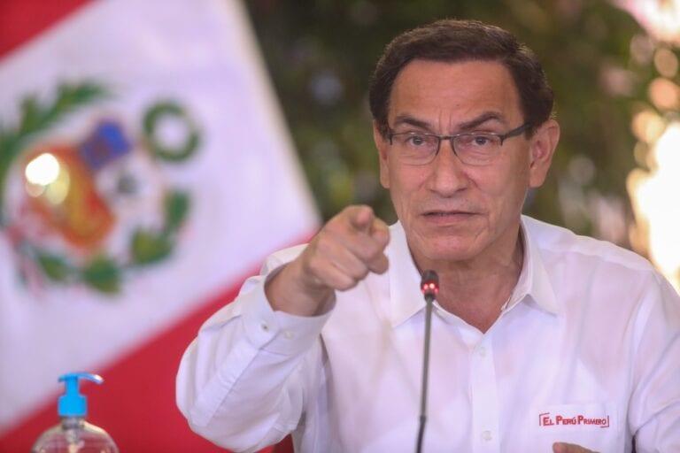 """Vizcarra sobre Majes Siguas II: """"Nos echan la culpa, pero el proyecto está en manos del Gobierno Regional de Arequipa"""""""