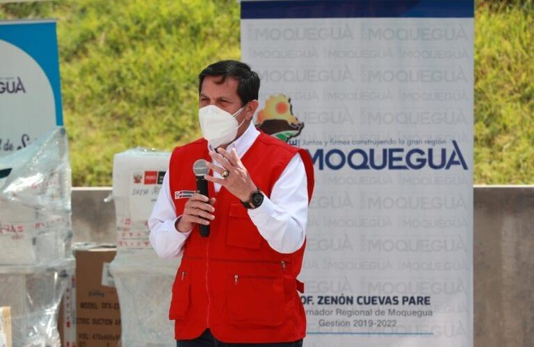 Ministro de Defensa asegura que Ilo y Moquegua tendrán plantas de oxígeno en un mes