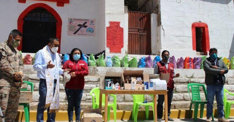 """Llevan ayuda a parte alta de Moquegua gracias a campaña """"Respira Moquegua"""""""