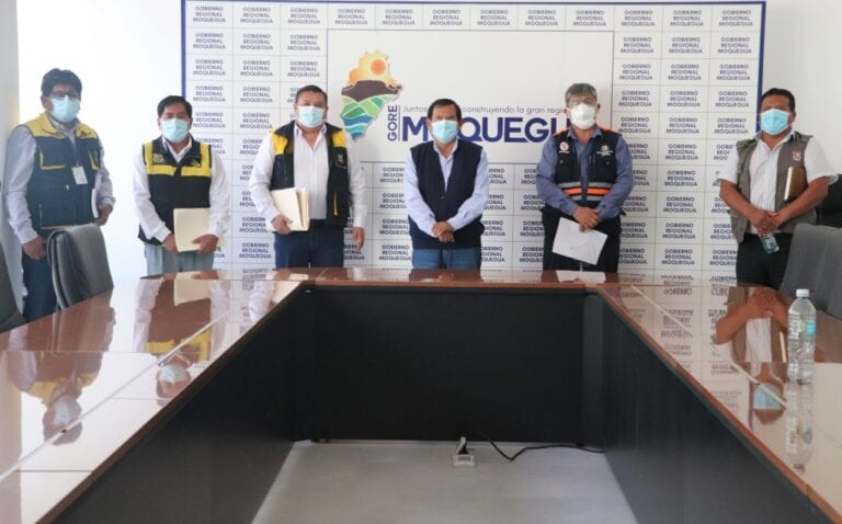 Pedirán que especialista de la PCM actúe como mediador ante controversia entre Ilo y Mariscal Nieto