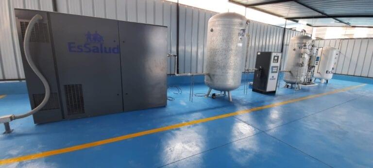 Formalizan entrega de planta de oxígeno en Mollendo