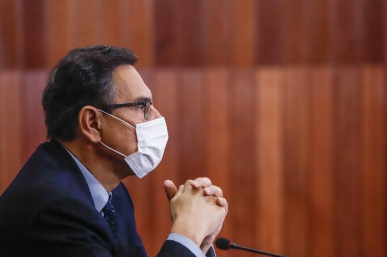 Martín Vizcarra presentó acción de amparo contra proceso que busca inhabilitarlo por 10 años