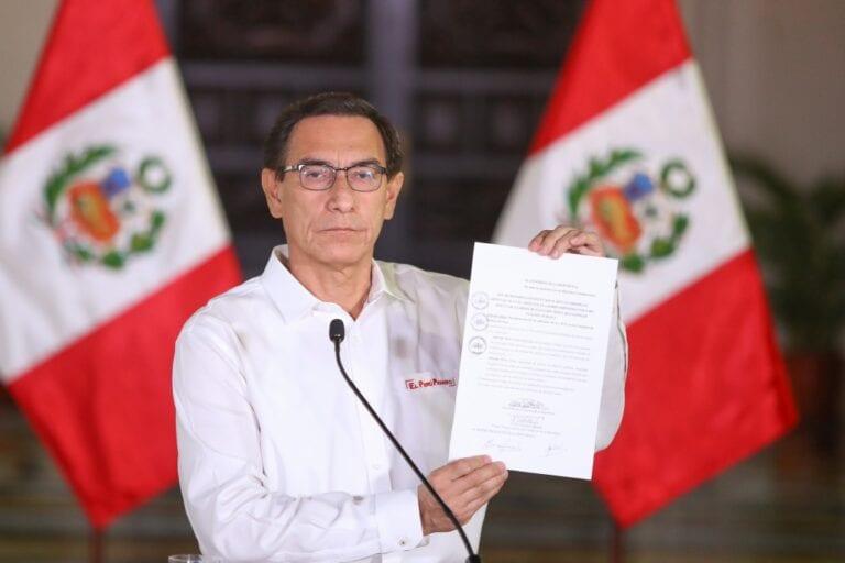 Presidente Vizcarra promulga ley que impide postular a sentenciados