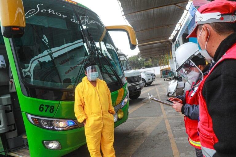 El MTC distribuye protectores faciales en las 3 provincias