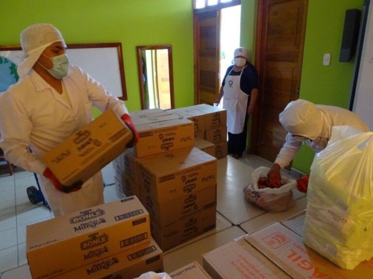 Qali Warma inicia cuarta entrega de alimentos en modalidad raciones