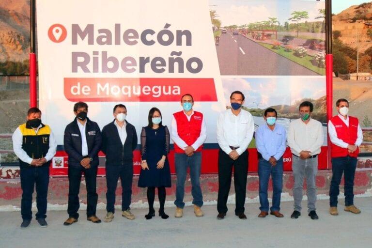 Recuperación del malecón ribereño se concreta gracias a gestiones impulsadas por alcalde provincial