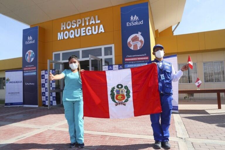 Coronavirus: ponen en marcha servicios del Hospital de Contingencia en Moquegua
