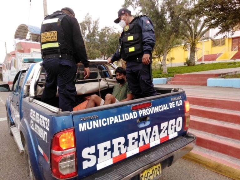 Serenazgo frustra robo en local comunal de Alto Ilo