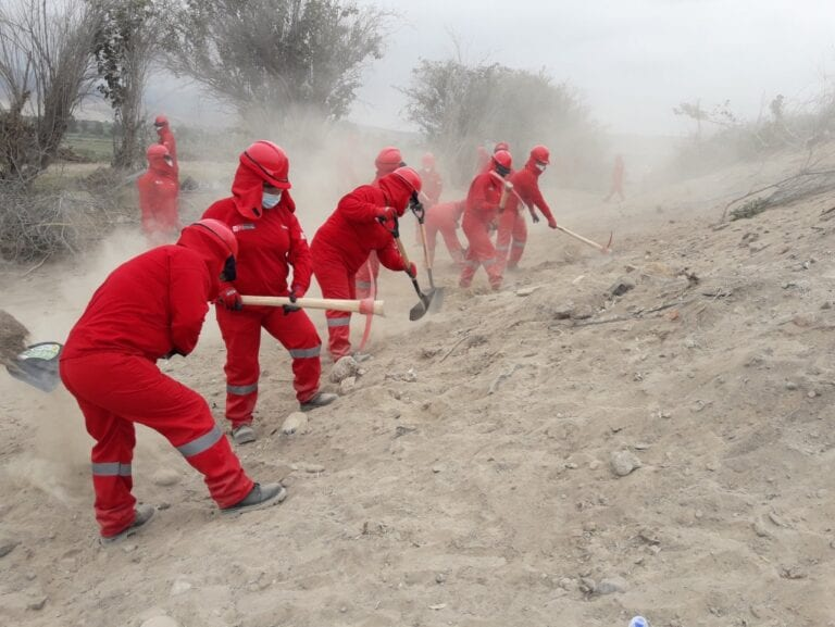 Promueven empleo para más de 100 personas en Mollendo