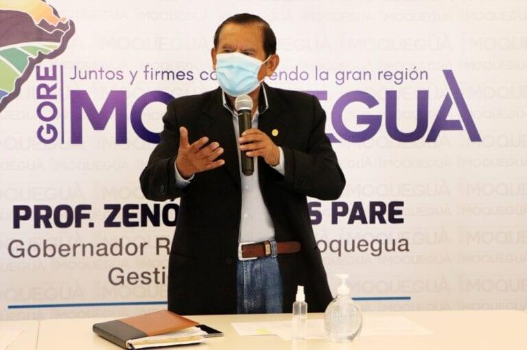 """Gobernador regional señala que fue un """"acto de valentía"""" lo que hizo ex presidente Vizcarra"""