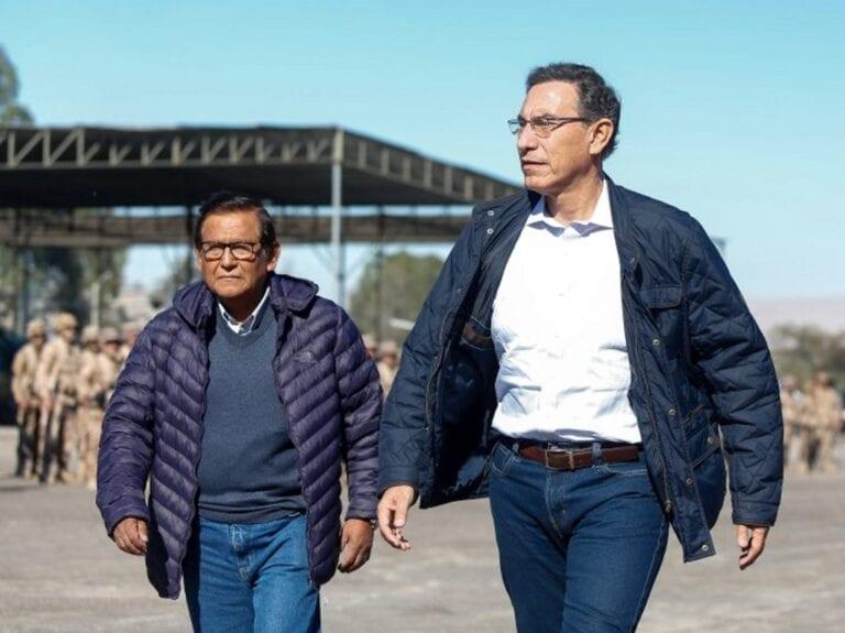 Gobernador Regional de Moquegua considera acelerada la inhabilitación de Vizcarra