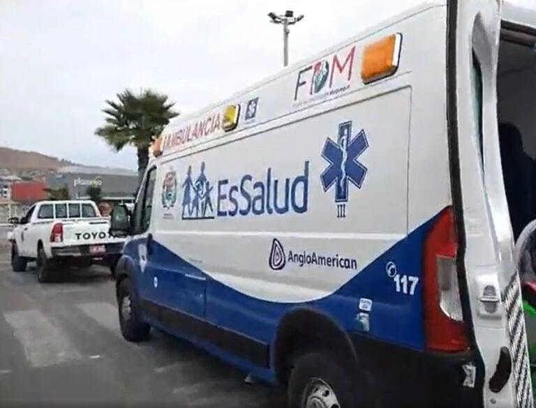 Este lunes el Fondo de Desarrollo Moquegua entregará ambulancia a EsSalud