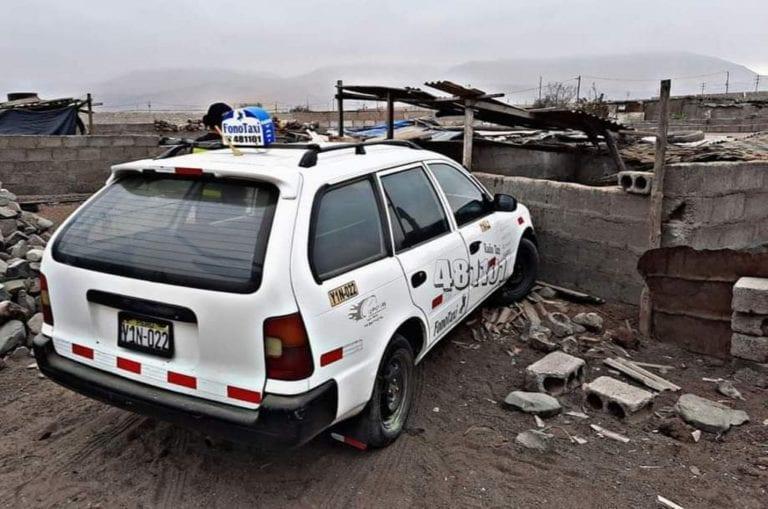 Serenazgo encuentran taxi reportado como robado