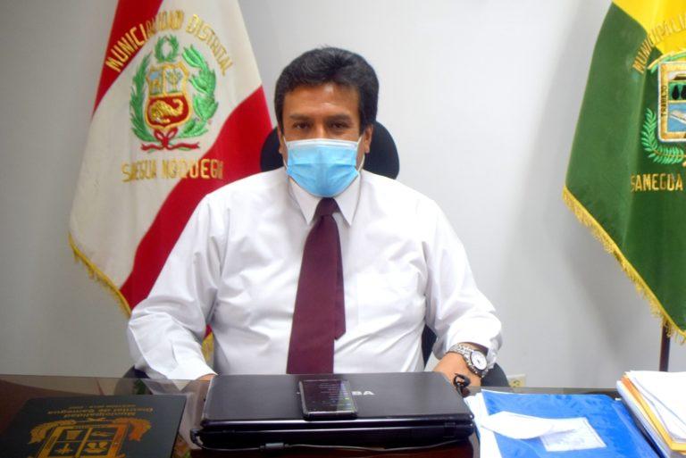 Alcalde Alonso Aragón gestiona mercado para el distrito de Samegua