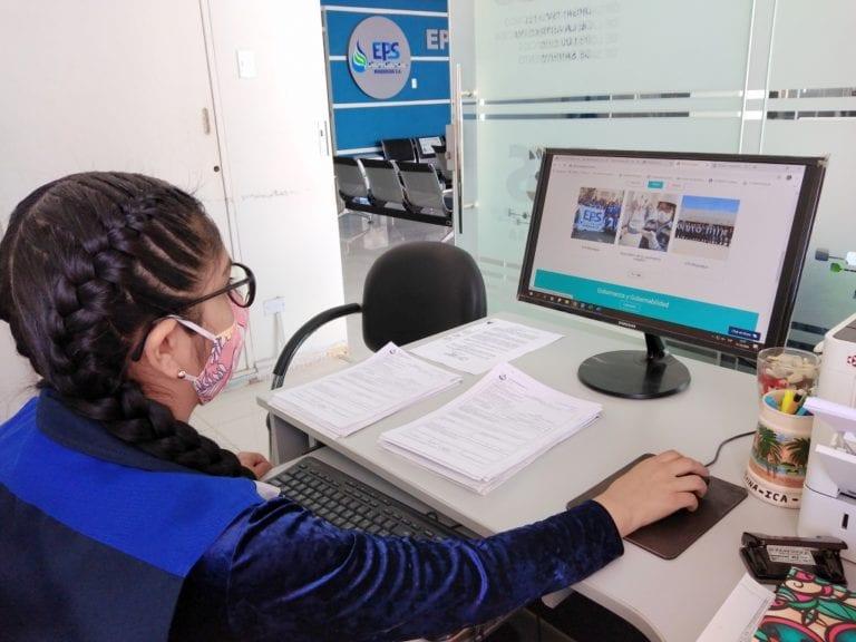 EPS Moquegua atendió 3689 usuarios a través de su plataforma virtual y telefónica