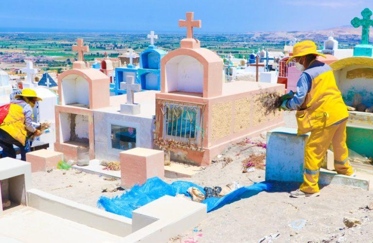 Con estrictos protocolos abrirán cementerio de Punta de Bombón