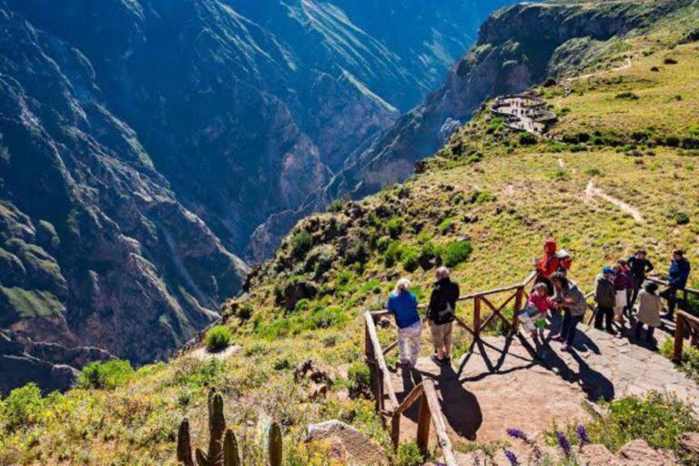 Valle del Colca registró más de mil visitantes el último fin de semana