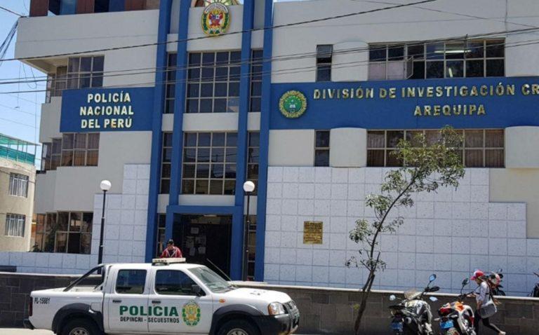 Detienen a seis policías e intervienen oficinas del Depincri