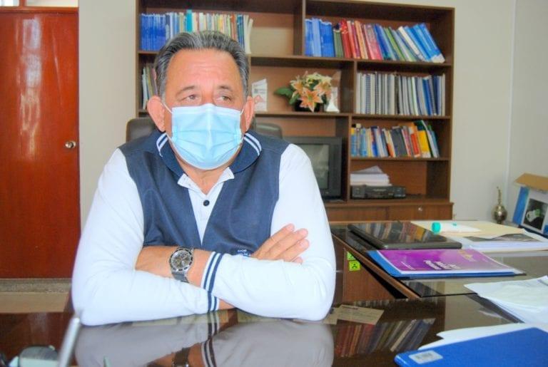"""Jorge L. Monroy: """"En la región Moquegua empezó el rebrote de COVID, sobre todo en Ilo"""""""