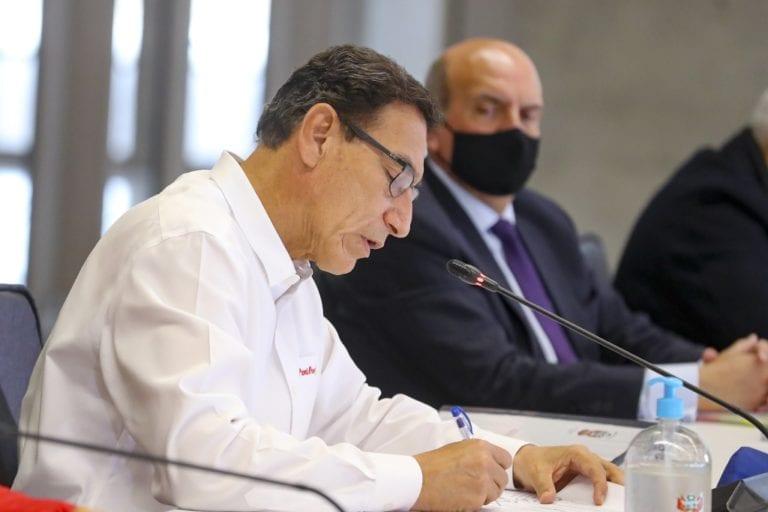 Presidente Vizcarra promulga ley de reprogramación y congelamiento de deudas