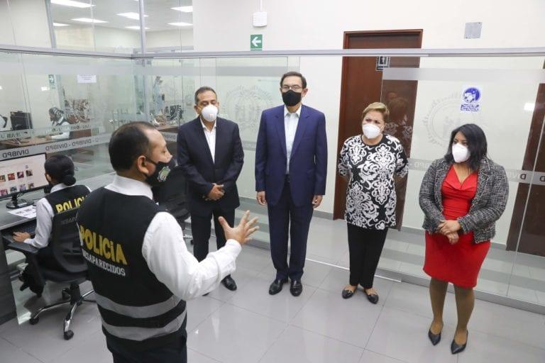 Perú da salto cualitativo en búsqueda de personas desaparecidas y lucha contra el crimen