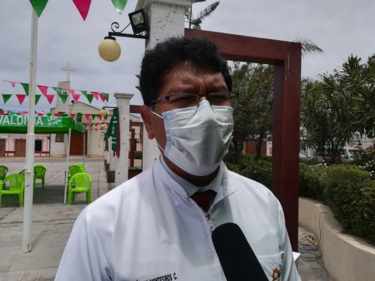 Dr. Montesinos asegura que al momento no hay casos de difteria en la provincia de Islay