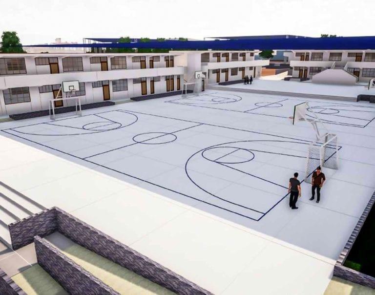 """Nuevo colegio """"Encinas Franco"""" con avance del 34%"""