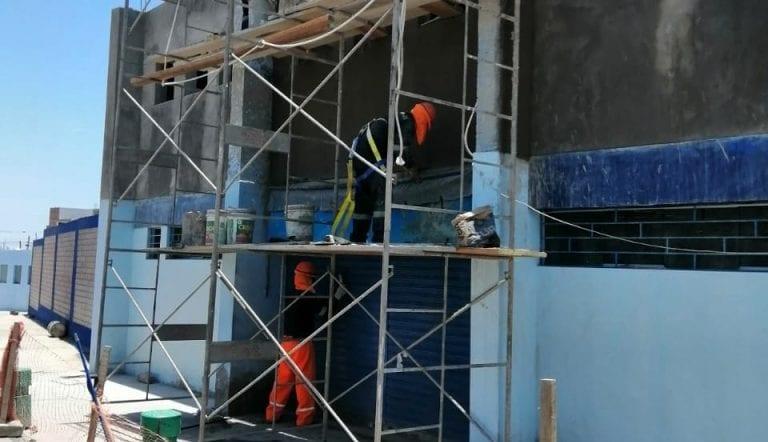 Detectan cemento vencido en obra de coliseo cerrado de Islay-Matarani
