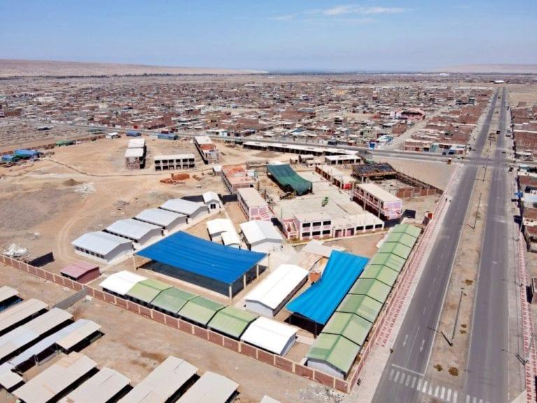 Continúan obras de la moderna infraestructura educativa que ejecuta Southern Perú y el Gobierno Regional De Tacna