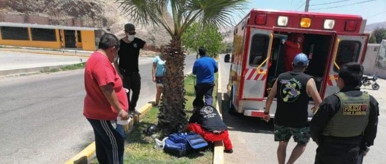 Muere policía que se accidentó al ingreso de Moquegua