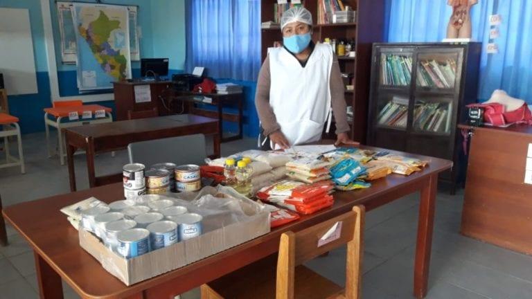 Qali Warma inicia distribución de 19 toneladas de alimentos