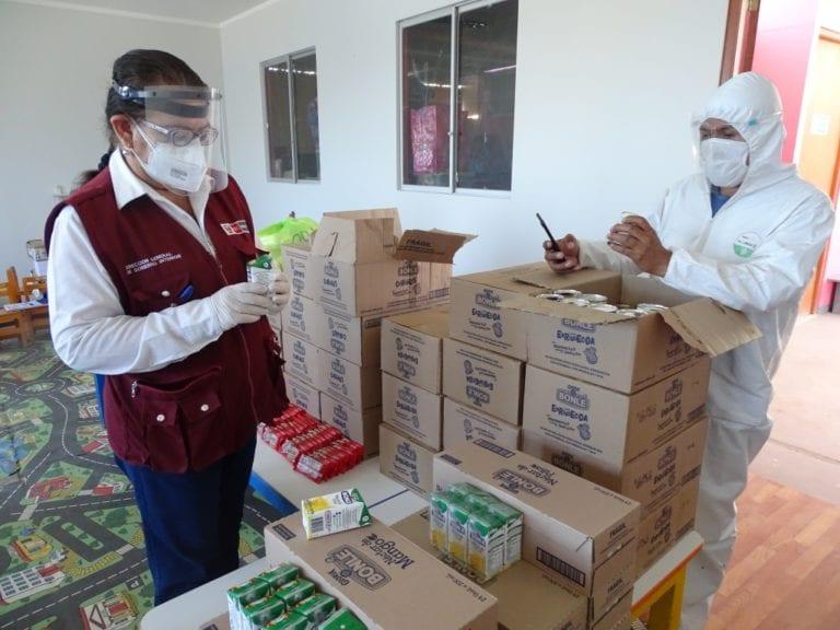 Qali Warma y subprefectos distritales supervisan distribución de alimentos
